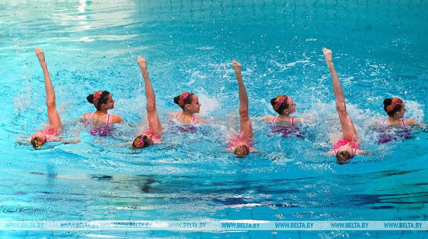 Команды из шести стран поборются за награды турнира по синхронному плаванию в Бресте