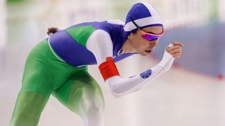 Марина Зуева. Фото Белорусского союза конькобежцев