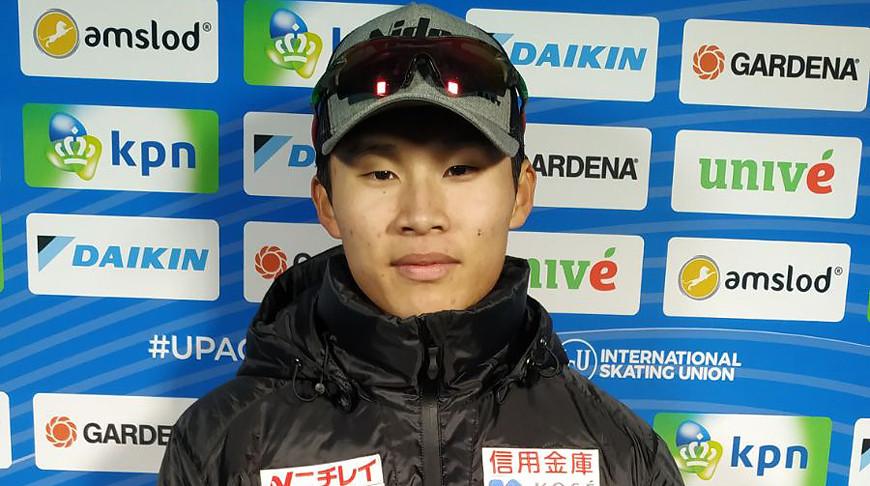 Ким Тхэ Юн. Фото Белорусского союза конькобежцев
