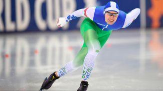 Игнат Головатюк. Фото Белорусского союза конькобежцев
