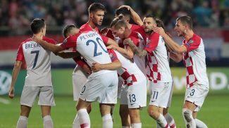 Радость хорватских футболистов. Фото УЕФА