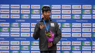 Юн Хо Ким. Фото Белорусского союза конькобежцев