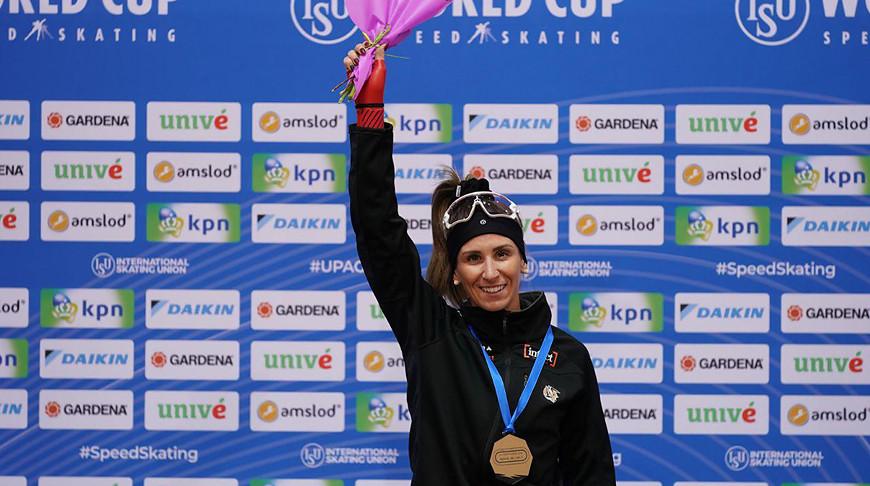 Ивони Блонден. Фото Белорусского союза конькобежцев