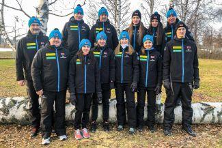 Женская национальная сборная Беларуси по биатлону. Фото Белорусской федерации биатлона