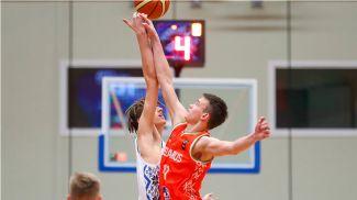 Беларусь-Молдова. Фото из VK-аккаунта Белорусской федерации баскетбола