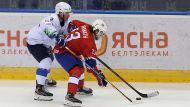 Норвежцы победили словенцев в матче открытия молодежного ЧМ по хоккею в Минске