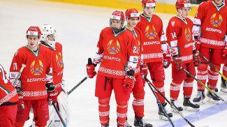 Во время тренировки белорусской сборной