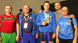 Сергей Шаренков. Фото из архива Белорусской федерации тяжелой атлетики