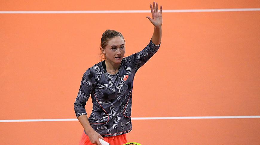 Александра Саснович. Фото организаторов турнира