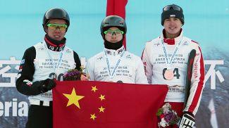 Цзя Цзунъян, Ци Гуанпу и Ноэ Рот. Фото Синьхуа - БЕЛТА