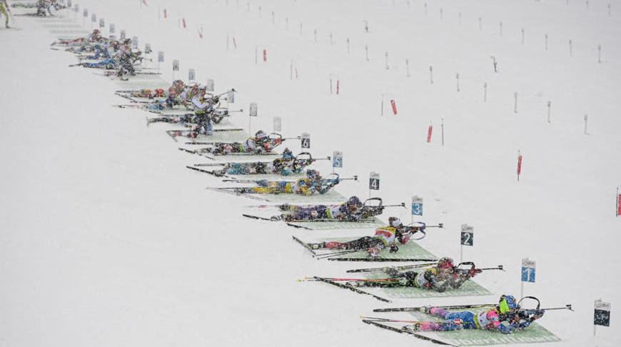 Во время гонки. Фото IBU