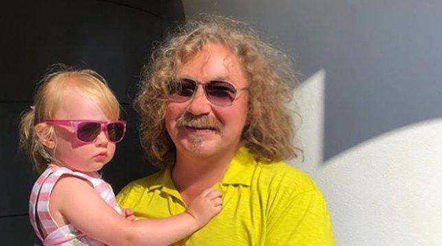 Игорь Николаев с дочкой. Фото из Instagram-аккаунта