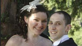 Келли Кинселла с супругом. Фото The Mirror