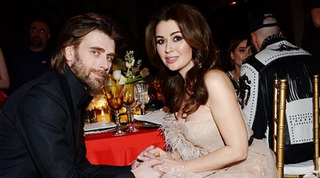 Петр Чернышев и Анастасия Заворотнюк. Фото из Instagram-аккаунта