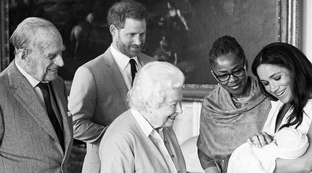 Фото с официальной страницы принца Гарри и его супруги Меган Маркл в   Instagram