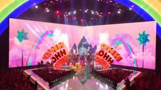 Выступление Тейлор Свифт. Скриншот из видео