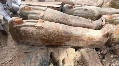 Фото Министерства по делам древностей Египта