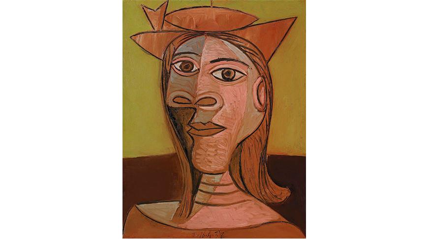 """Пабло Пикассо """"Женщина в шляпе"""". Фото Picassolive"""