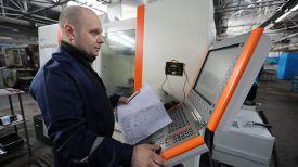 Наладчик станков с ЧПУ Дмитрий Бутарев