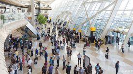 Международный аэропорт Гейдар Алиев. Фото 1news.az