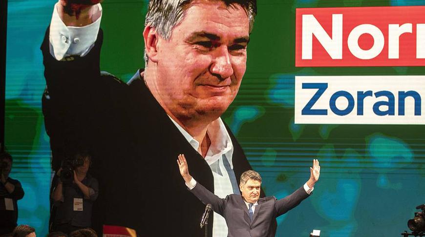 Зоран Миланович. Фото  AP Photo