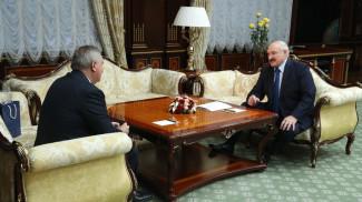 Дмитрий Рогозин и Александр Лукашенко