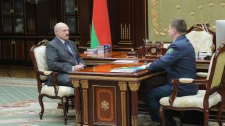 Александр Лукашенко и Юрий Сенько