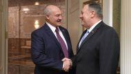 Лукашенко - Помпео: мы с вами давно знакомы, но заочно