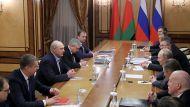 Дубль два - переговоры Лукашенко и Путина в расширенном формате прошли в полном составе