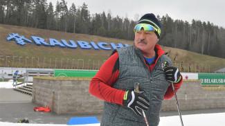 Александр Лукашенко в Раубичах