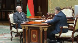 Александр Лукашенко и Максим Ермолович