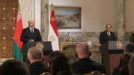 Александр Лукашенко и Абдель Фаттах ас-Сиси во время переговоров