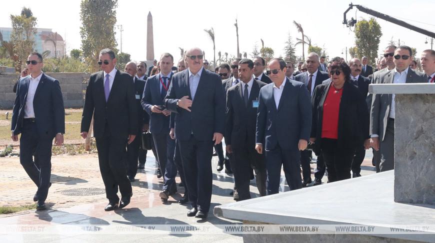 Умный город будущего — Президент Египта сегодня показывает Лукашенко новую административную столицу