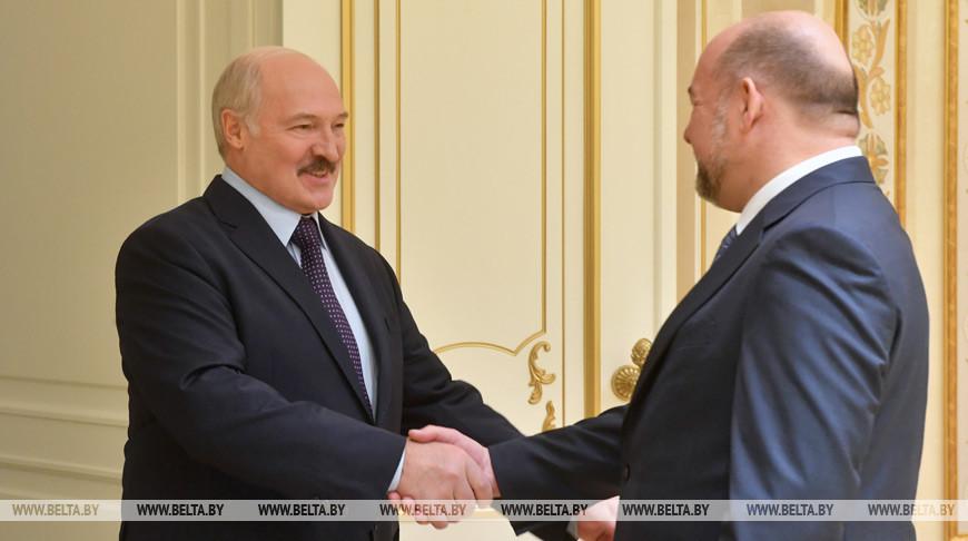 Александр Лукашенко и Игорь Орлов