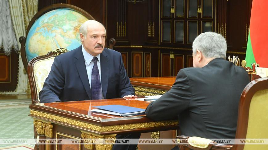 Александр Лукашенко и Владимир Семашко