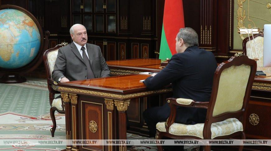 Лукашенко о ситуации с коронавирусом в Беларуси: для паники нет никаких оснований