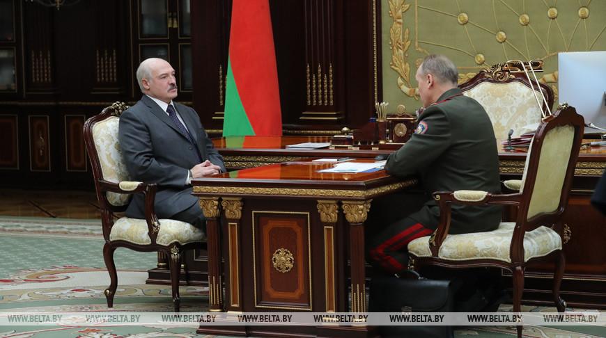Александр Лукашенко и Владимир Ващенко