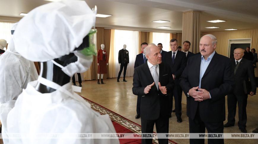 Лукашенко ознакомится с выпуском защитных средств на бобруйской «Славянке»