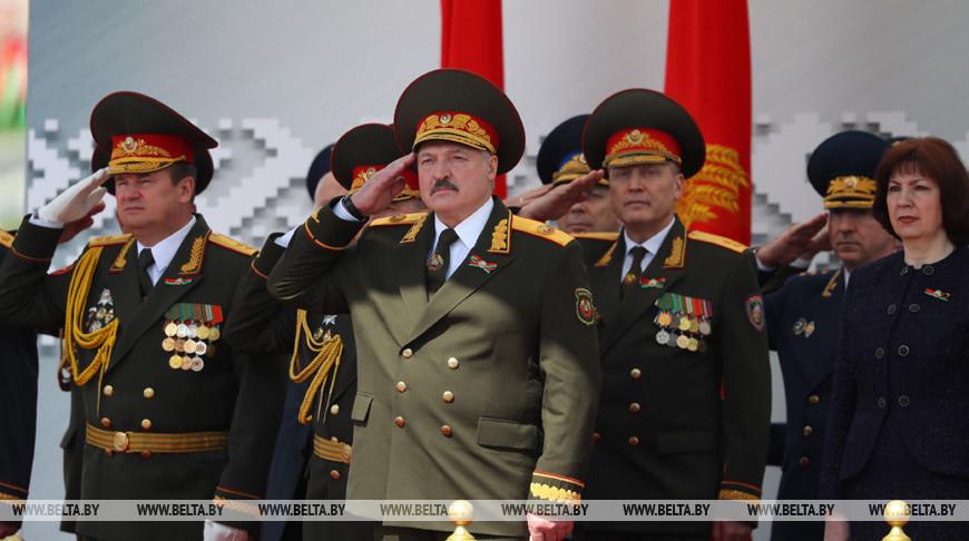 Лукашенко: парад в День Победы — это не демонстрация силы, а дань памяти нашей героической истории