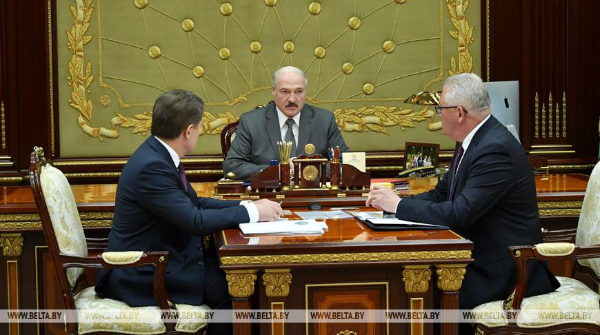 Игорь Петришенко, Александр Лукашенко и Игорь Карпенко