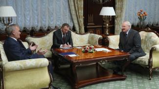 Велько Ковачевич и Александр Лукашенко