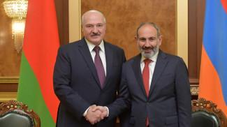 Александр Лукашенко и Никол Пашинян. Фото из архива