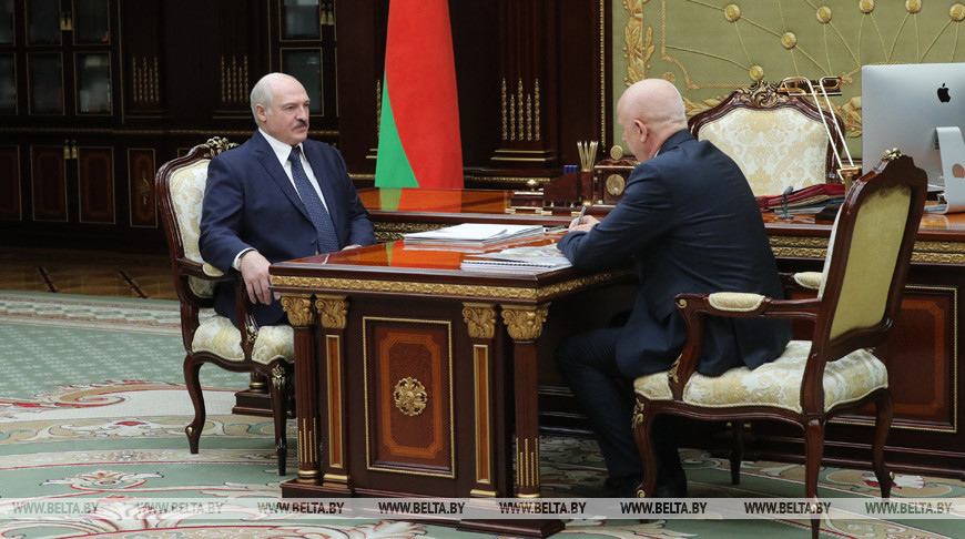 Александр Лукашенко и Анатолий Сивак