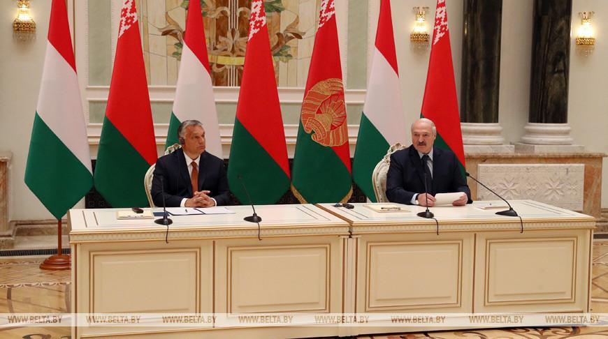 Виктор Орбан и Александр Лукашенко