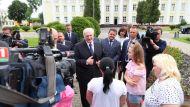 Лукашенко в Полоцке пообщался с жителями города и журналистами