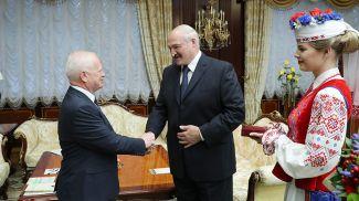 Йозеф Мигаш и Александр Лукашенко