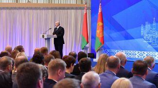 Александр Лукашенко на встрече с активом города Минска