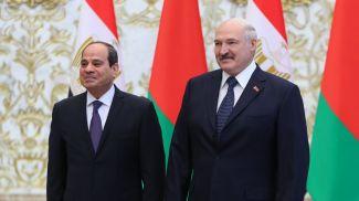 Абдель Фаттах ас-Сиси и Александр Лукашенко. Фото из архива