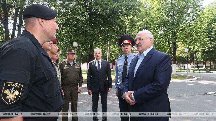 Александр Лукашенко убежден в правильности курса на создание надежной системы нацбезопасности