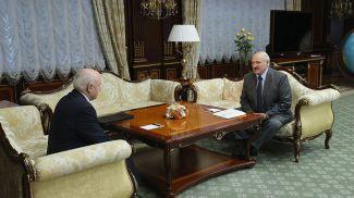 Сергей Лебедев и Александр Лукашенко